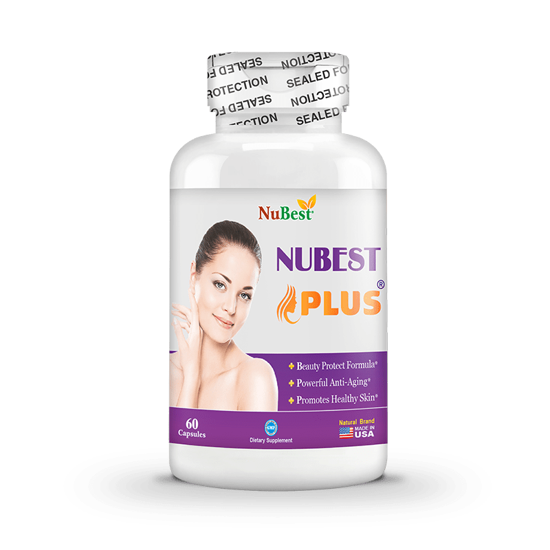 NuBest Plus - 60 Capsules | Beauty Protect Formula | Powerful Anti-Aging