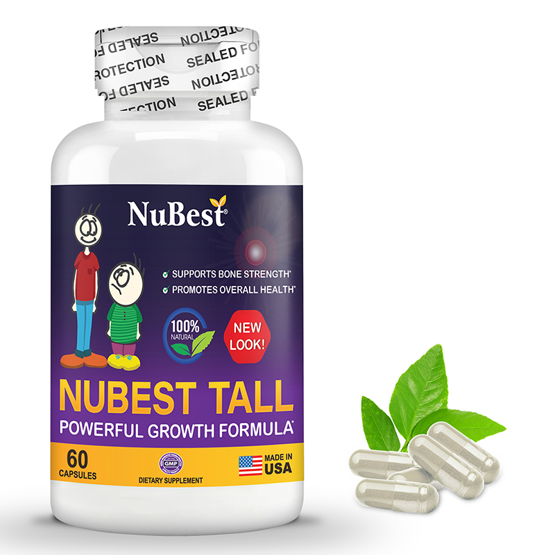NuBest Tall, Natural Grow-taller Formula, For Children (5+) and Teens Who Don't Drink Milk Daily