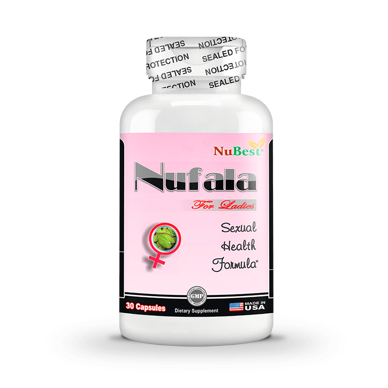 Nufala - 30 Capsules | Premium Herbs Extract, Natural Sexual Energy & Passion Complex for Women